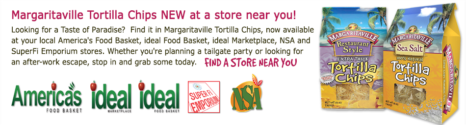 Margaritaville Tortilla Chips NEW at a store near you